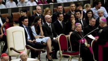 Papa Francesco e la sedia vuota