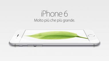 """iPhone 6 e iPhone 6 Plus: """"Molto più che più grande"""""""