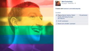 L'arcobaleno sotto gli occhi di 26 milioni di persone