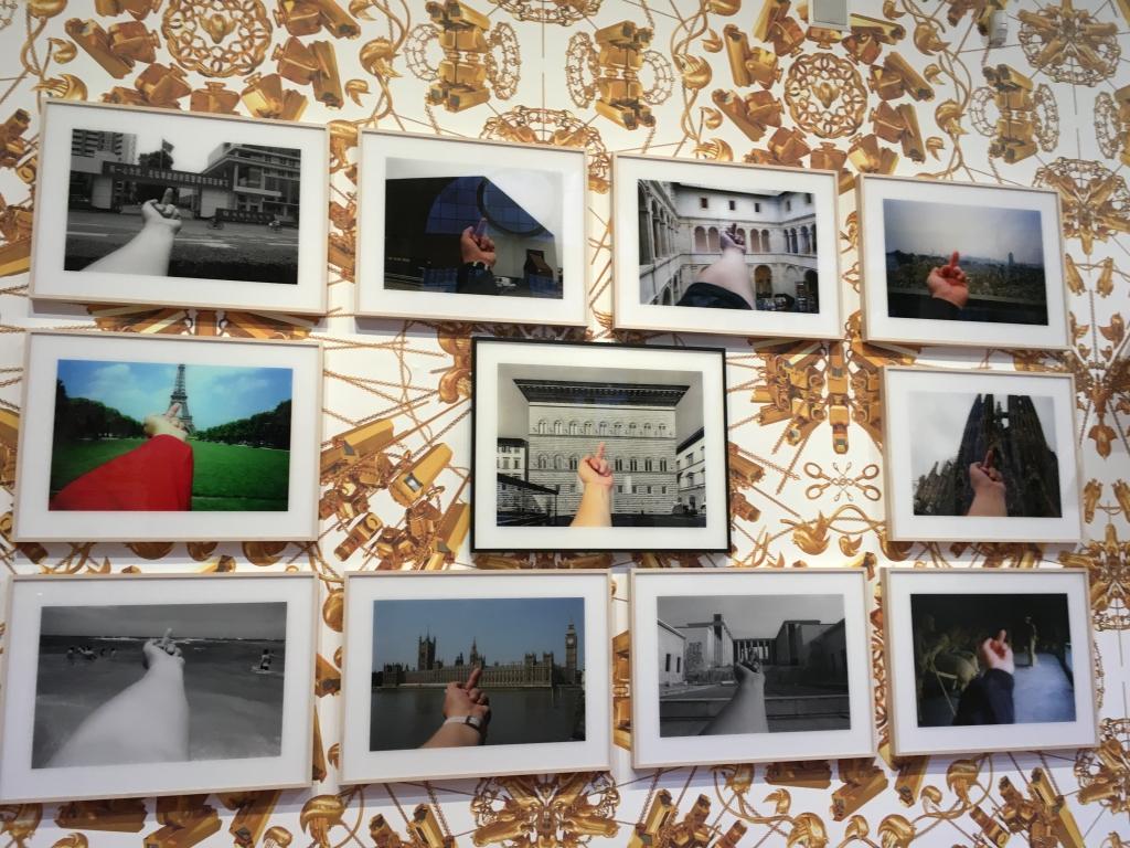 Study of Perspective è una serie di fotografie, accomunate dal suo braccio sinistro sollevato con il dito medio alzato, davanti a monumenti mondiali altamente simbolici attirando l'attenzione dell'osservatore affinché metta in discussione il proprio atteggiamento nei confronti di governi, istituzioni e persino della cultura.