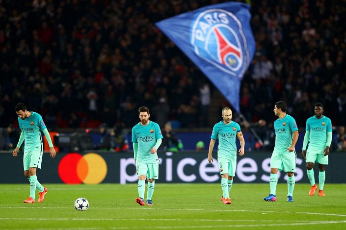 Paris-Saint-Germain-v-FC-Barcelona-UEFA-Champions-League-Round-of-16-First-Leg