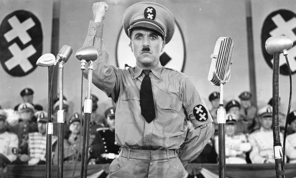 CHARLES CHAPLIN in The Great Dictator *Editorial Use Only* www.capitalpictures.com sales@capitalpictures.com Supplied by Capital Pictures