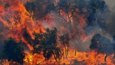 La penisola in fiamme