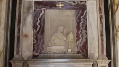 Sulla tomba di Dante