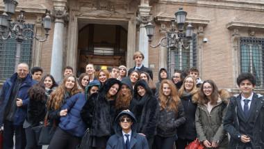 Il liceo che forma: il Gruppo Europa al Parlamento