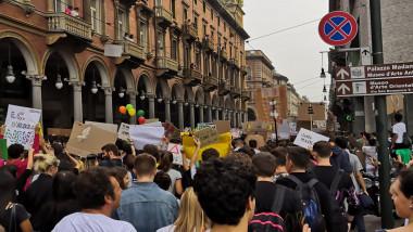 Friday For Future,i ragazzi di Greta a Torino